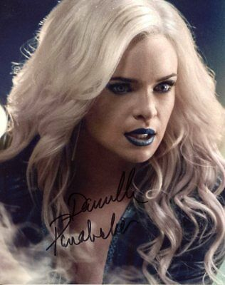 Danielle Panabaker THE FLASH In Person Signed Photo  UACC