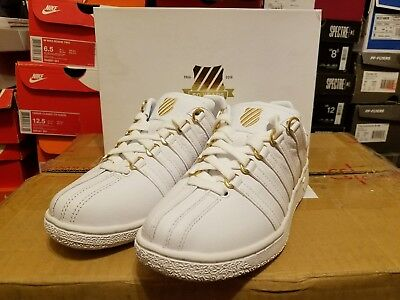 K Swiss VN 50th anniversary White gold women's Shoes 93944 955 Sz 6.5