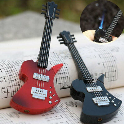 Créative Briquet Guitare Mode Allume-cigare Briquets Lighters Collection Gifts