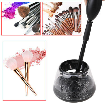 Makeup Brush Cleaner Electric Spinning 360 Rotation Cleans &Dries Makeup Brushes