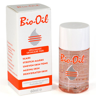 Bio Oil Purcellin Oil 60ml (2oz) Skincare for Stretch Mark Scar Uneven Skin Tone