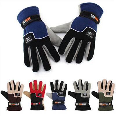 Winter Handschuhe Ski Snowboard Herren Damen Thermo Warme Thinsulate Polarfleece