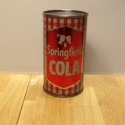 Springfield Cola Flat Top Soda Can