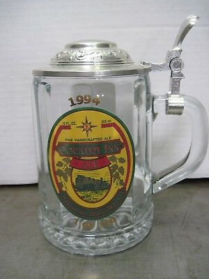 Millrose Brewing Co. Country Inn Ale  Mug / Stein Lidded 1994 - 1 of Only 150