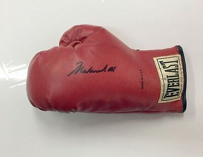 Muhammad Ali Hand Signed Boxing Glove with COA # OVERSTOCK SPECIAL LOOK #