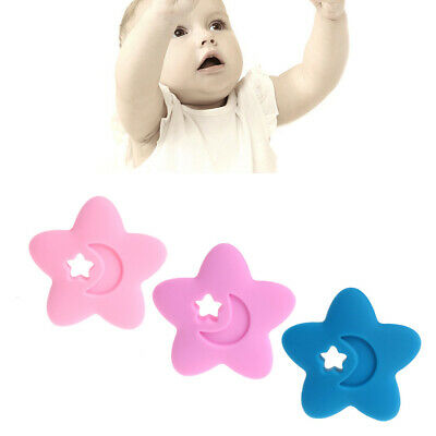 BPA Free Silicone Baby Star Teethers DIY Nursing Necklace Chewable Pendants
