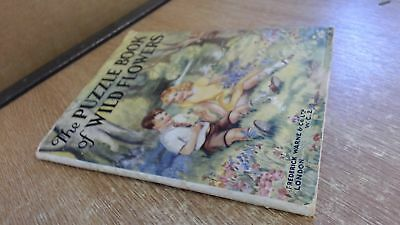 The Puzzle Book Of Wild Flowers, Patricia Baines, Frederick Warne