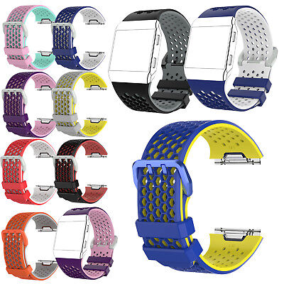 Breathable Sports Strap Replacement Band Wristband For Fitbit Ionic  Large/Small