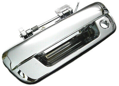 Holden Rodeo Colorado Isuzu D-Max Chrome Tailgate Handle With Key Hole Type *New