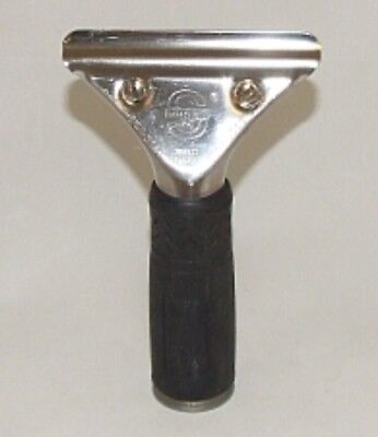 Unger SG000 S-Squeegee Grip Handle Silver Rubber Handle