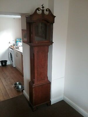 longcase grandfather clock case Somerset north Devon