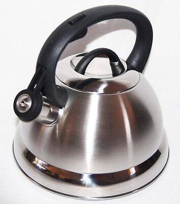 2.3L High Quality Stainless Steel Whistle Kettle for home and camping