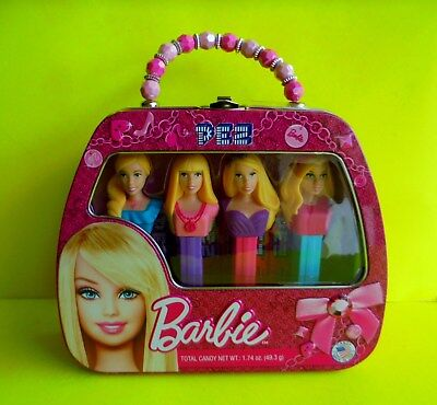 Pez Barbie Limited Edition Box Ovp USA Collector Set Version