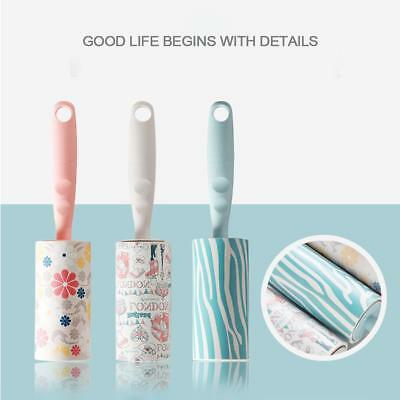 50Sheet Dust-collecting Sticky Brush Lint Rollers Hair Cleaning Brush Roller Pop
