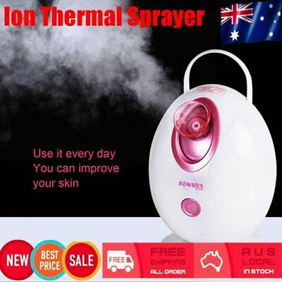 Ion Thermal Sprayer Spa Moisturizing Face Humidifier Steamer Beauty Machine F#