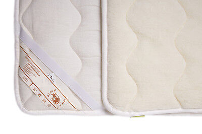 Children Mattress Cover Mattress Pad Bed Pad Slipcover Merino Wool Quilted