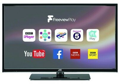 """JVC LT-32C672 32"""" Smart HD LED TV with Internet, WiFi, Freeview Play, USB PVR"""