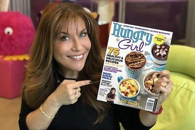 Hungry Girl Spring 2018 Premiere Issue Magazine Lisa Lillien Brand New 🥗