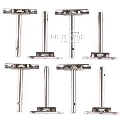 US Stock 8Pcs Heavy Duty Tool Concealed Floating Hidden Shelf Support Brackets