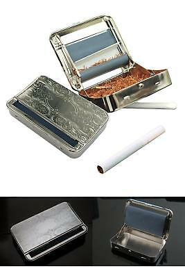 Cigarette Rolling Kit Automatic Cigarette Roller Machine Tobacco Joint Metal