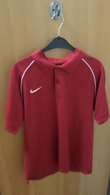 Nike Team Polo Shirt 264656-648 rot Gr. M Fußball, Training, Sport, Fitness