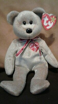 Mint TY Beanie Original Baby Babies 1999 SIGNATURE Bear Attached Tags & Error