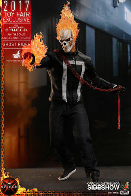 GHOST RIDER MARVEL Agents of SHIELD 1/6 HOT TOYS 2017 EXCLUSIVE figure