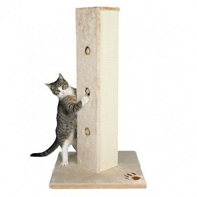 Soria Cat Post Trixie Cat Scratching Post Beige 80Cm Cat Play Post With Toys New