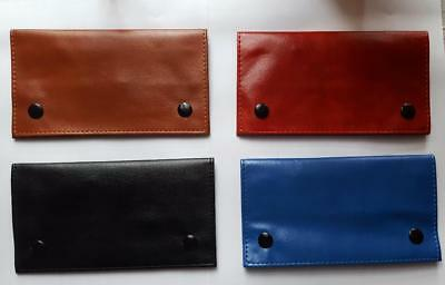 Tobacco Pouch Rizla Slot Organizer Soft Pu Leather Purse Wallet Purse Wallet