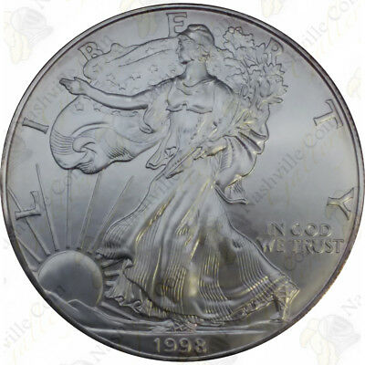 1998 1 oz American Silver Eagle - Brilliant Uncirculated - SKU #1392
