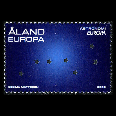 "Aland 2009 - EUROPA Stamps ""Astronomy"" - Sc 287 MNH"