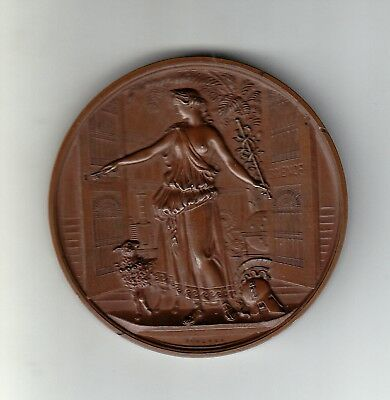 Crystel Palace London,opened 1854 / Weltaustellung - Bronze Medaille & Etui