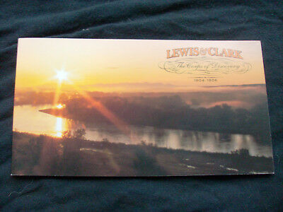 BK297 3855-3856 Lewis and Clark booklet of 20  37 cent stamps