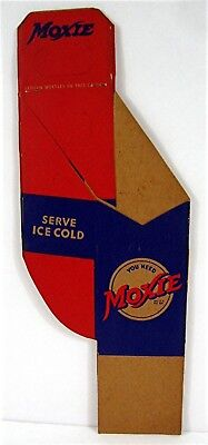 Old Moxie Soda Pop Bottle 2 Pack Carrier Carton Unused Old Store Stock