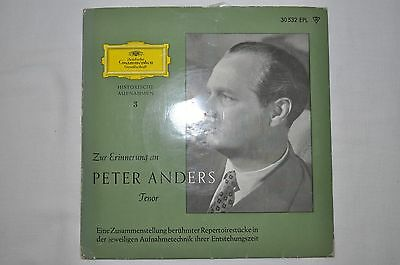 Peter Anders  / Maria Cebotari  Single