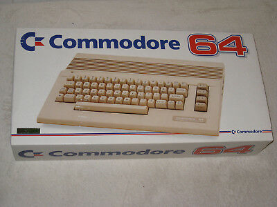 Commodore C64 C in OVP / boxed (ungeöffnet / unopened / sealed) super Zustand!!!