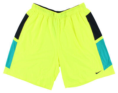 00beee0b17ce NIKE MENS HYPERSPEED Fly Knit Training Shorts Neon Yellow XXL 588640 ...