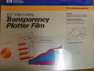 Hewlett Packard Transparency Plotter Film 17700T