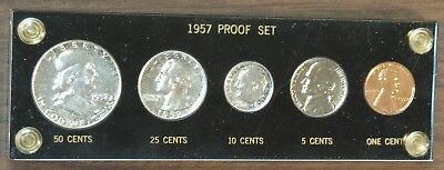 1957 Proof Set in Capital Holder