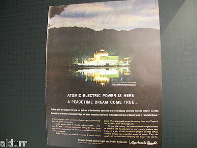 Yankee Nuclear Power Plant-Nvestor Owned Electric Utilities Print Ad