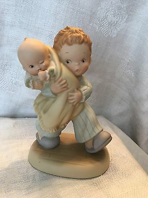 1992 Memories of Yesterday ENESCO Lucie Attwell The Future-God Bless Em Figurine