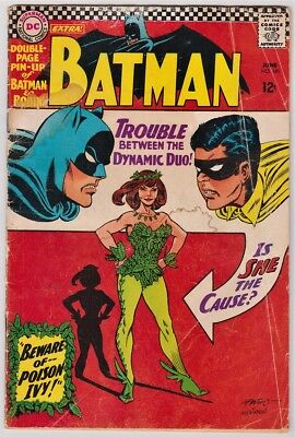 Batman #181 (Jun 1966, DC) 1st Appearance of Poison Ivy