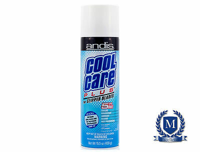 Andis Cool Care Plus Spray For Clipper Blades - 5 in 1 Formula