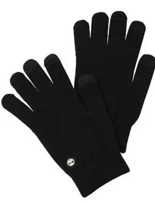 Timberland Men's Magic Knit Glove GlovesTouchscreen Technology Black One Size