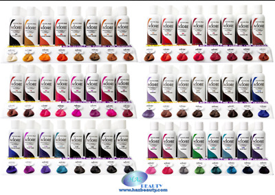 ADORE Semi-Permanent Hair Dye 118ml With FREE DYE BRUSH when you buy 2=56 SHADES