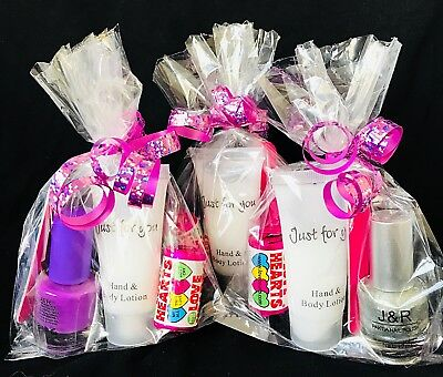 Girls Pre Filled Pamper Party Bags, Older Girls/Sleepover /Hen Party Bags.