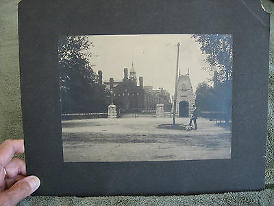 Original Vintage Photo - - Church? - -  Castle? -  - School?  - - University?