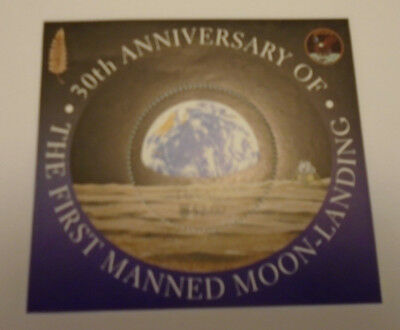 The First Man on The Moon Commemorative Stamp