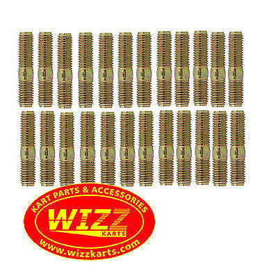 Pack of 24 High Quality M8 Wheel Studs FREE POSTAGE WIZZ KARTS