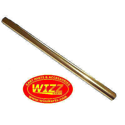 M8 x 285mm Gold Alloy Round Track Rod High Quality FREE POSTAGE WIZZ KARTS